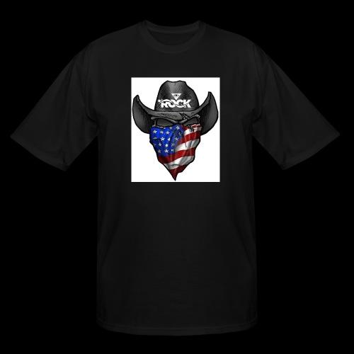 Eye rock cowboy Design - Men's Tall T-Shirt