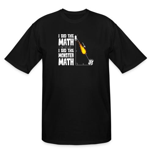 Monster Math - Men's Tall T-Shirt