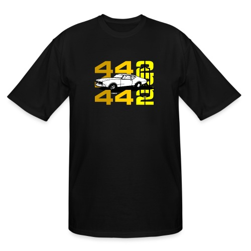 auto_oldsmobile_442_002a - Men's Tall T-Shirt