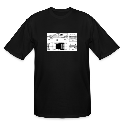 artists rendering - Men's Tall T-Shirt