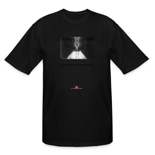 'Ancient Information' - Men's Tall T-Shirt