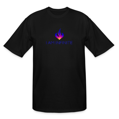 I Am Infinite - Men's Tall T-Shirt