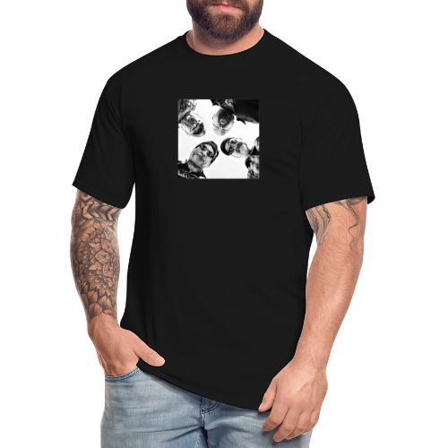 Crawdad Joe Circle shot - Men's Tall T-Shirt
