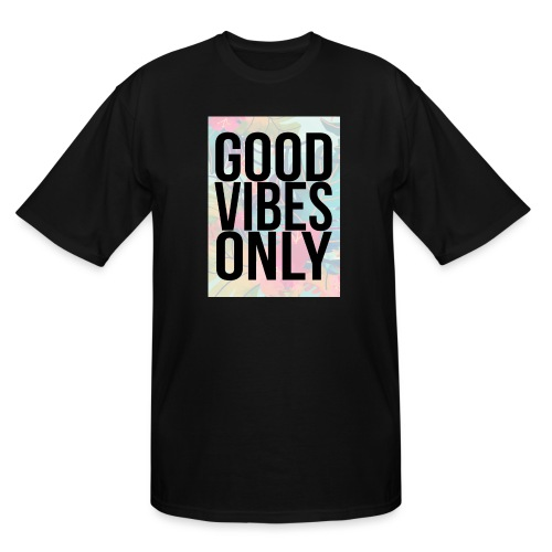 good vibes only tropical - Men's Tall T-Shirt