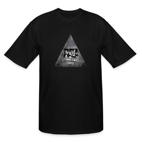 Think Like Chess Logo - Men's Tall T-Shirt