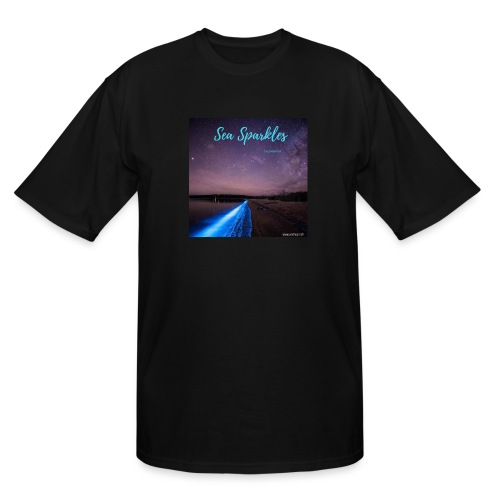 Tasmanian Sea Sparkles - Men's Tall T-Shirt