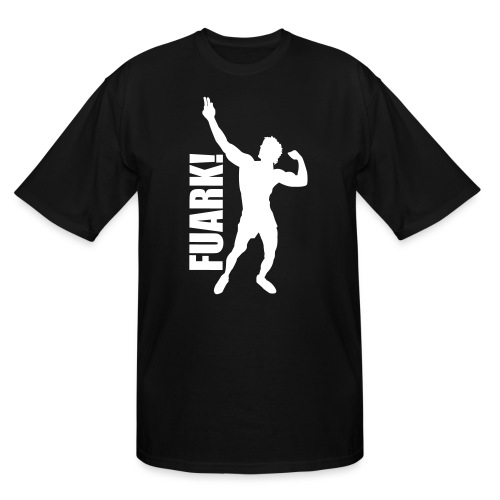 Zyzz Silhouette FUARK - Men's Tall T-Shirt