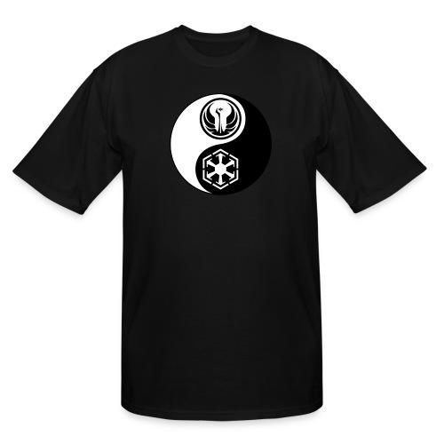 Star Wars SWTOR Yin Yang 2-Color - Men's Tall T-Shirt