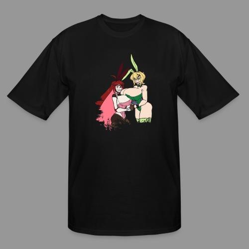 Micha and Kirika Tiddy Bunsuit - Men's Tall T-Shirt