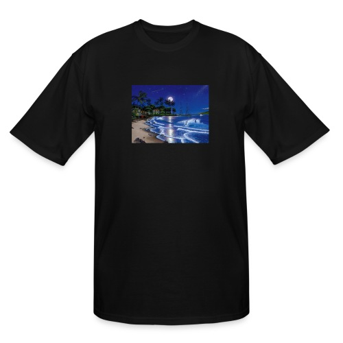 full moon - Men's Tall T-Shirt