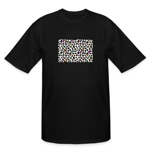 Colorful Animal Print - Men's Tall T-Shirt