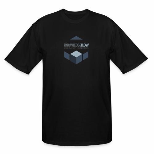 KnowledgeFlow Cybersafety Foundation - Men's Tall T-Shirt