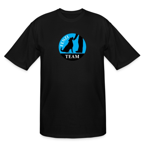 FENZITEAM Logo W - NOT FOR BLACK - Men's Tall T-Shirt