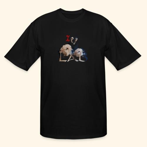 I love Lab - Men's Tall T-Shirt