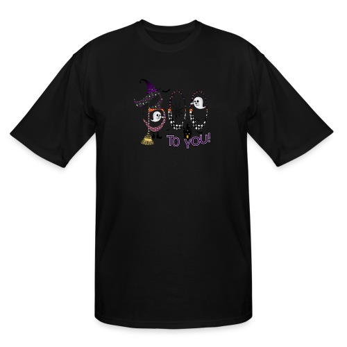 Halloween Boo To You - Men's Tall T-Shirt