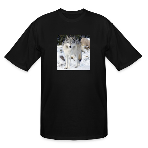 Canis lupus occidentalis - Men's Tall T-Shirt
