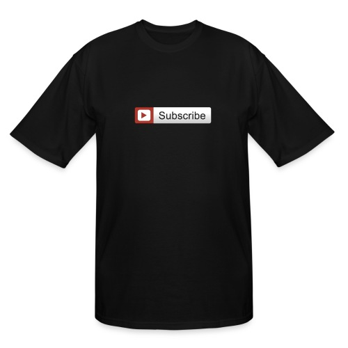 YOUTUBE SUBSCRIBE - Men's Tall T-Shirt