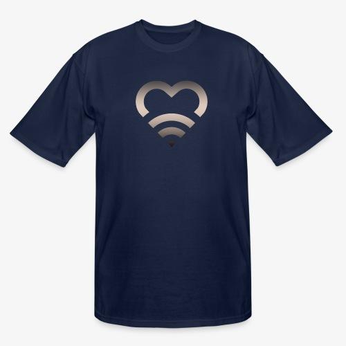 I Heart Wifi IPhone Case - Men's Tall T-Shirt