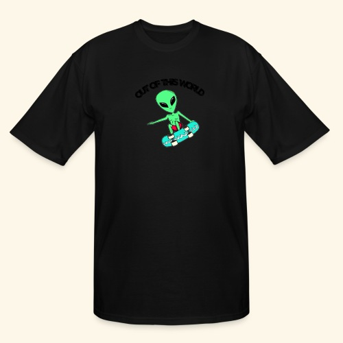 out of this world - Men's Tall T-Shirt