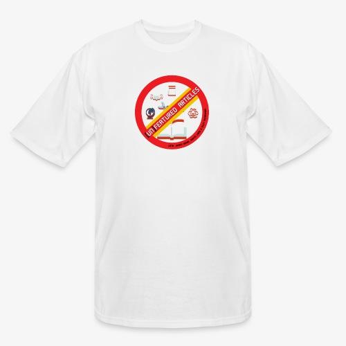 unFeatured Articles Logo - Men's Tall T-Shirt