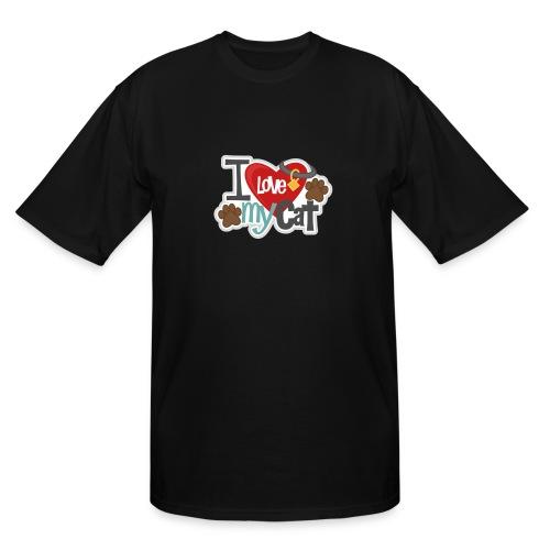 i love my cat - Men's Tall T-Shirt