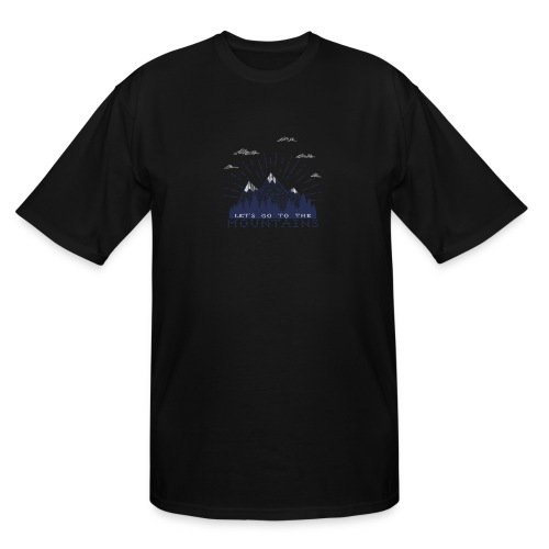 Adventure Mountains T-shirts and Products - Men's Tall T-Shirt
