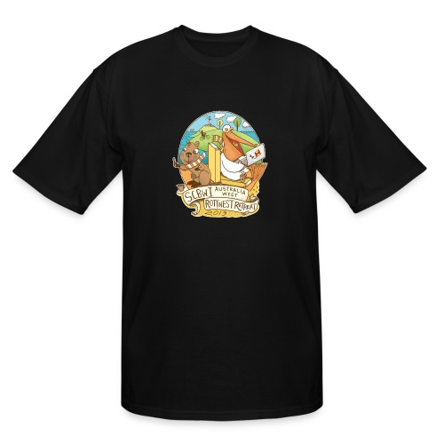 SCBWI Australia West 2019 Rottnest Retreat - Men's Tall T-Shirt