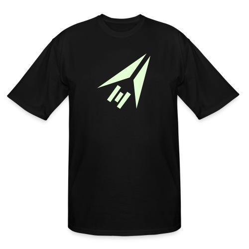 SWTOR Trooper Class Logo 1-Color - Men's Tall T-Shirt