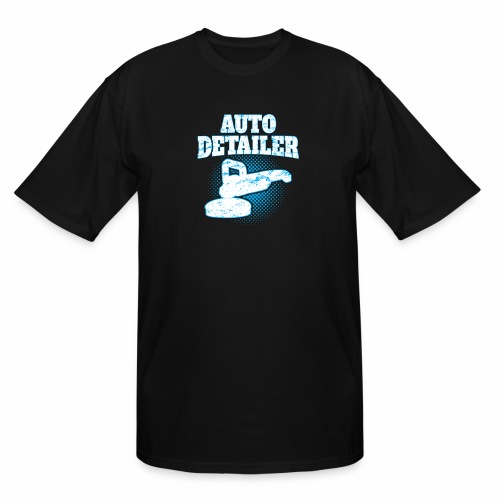 AUTO DETAILER SHIRT | CAR DETAILING - Men's Tall T-Shirt