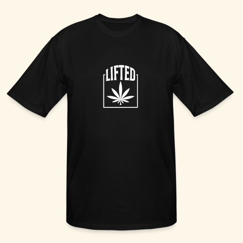 LIFTED T-SHIRT FOR MEN AND WOMEN - CANNABISLEAF - Men's Tall T-Shirt
