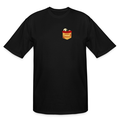 Just feed me pizza - Men's Tall T-Shirt
