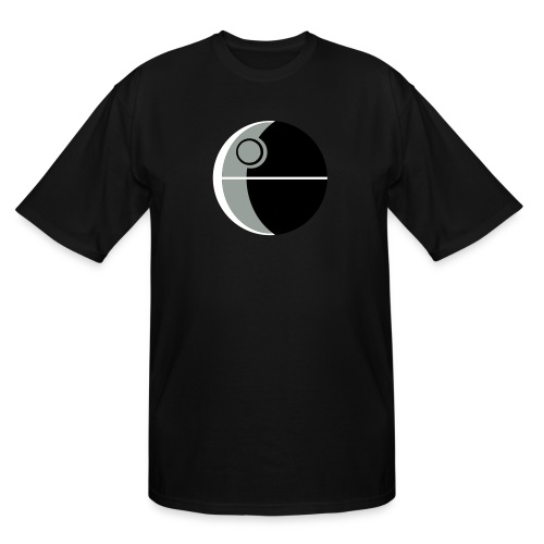 This Is Not A Moon - Men's Tall T-Shirt