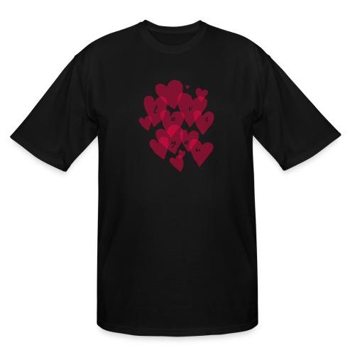 love you - Men's Tall T-Shirt
