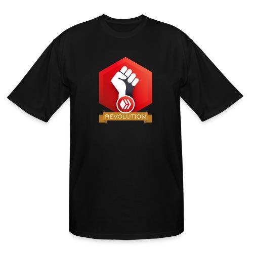 Hive Revolution Banner - Men's Tall T-Shirt