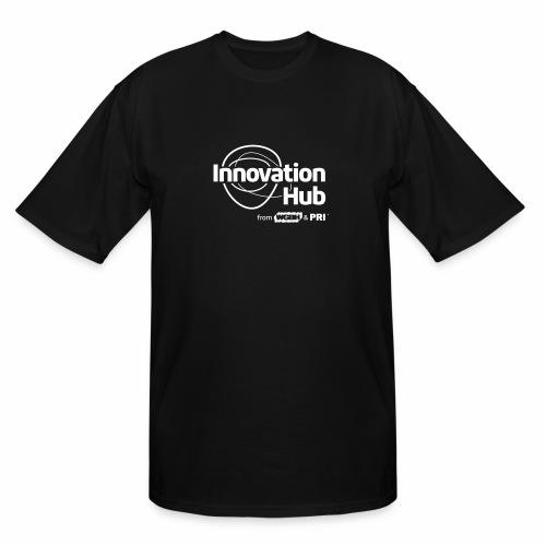 Innovation Hub white logo - Men's Tall T-Shirt