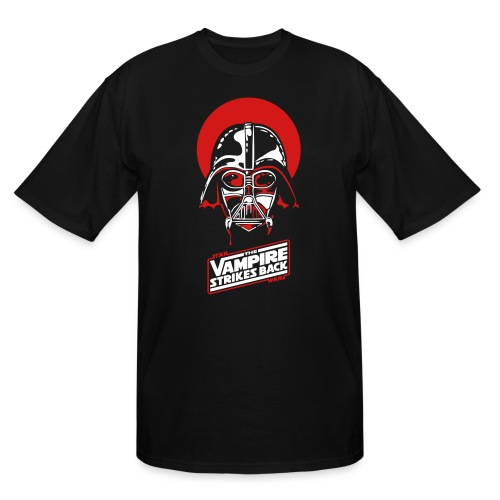 the Vampire Strikes Back - Men's Tall T-Shirt
