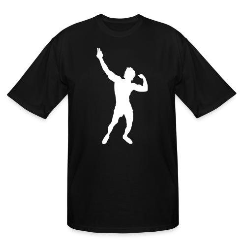 Zyzz Silhouette vector - Men's Tall T-Shirt