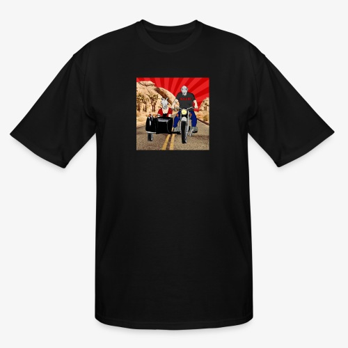 THE BELLE ENDS EASY RIDERS - Men's Tall T-Shirt