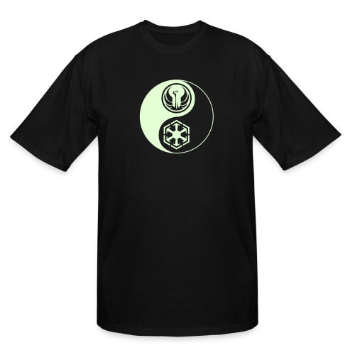 Star Wars SWTOR Yin Yang 1-Color Light - Men's Tall T-Shirt
