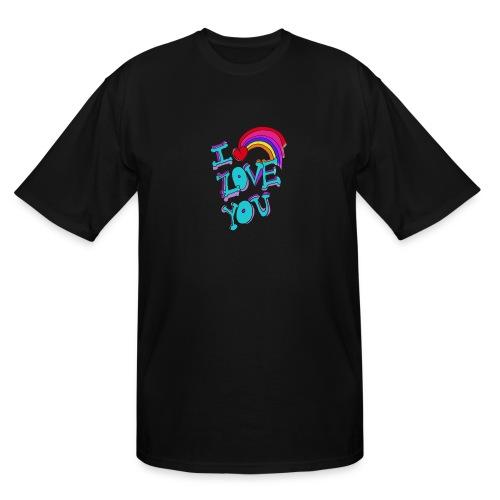 I Love you - Men's Tall T-Shirt