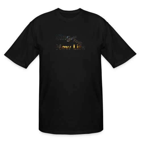 Sing in Brown - Men's Tall T-Shirt