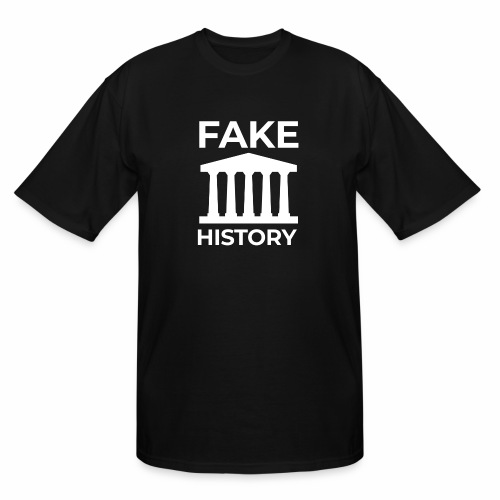 Fake History: Colonial Style Buildings Worldwide - Men's Tall T-Shirt