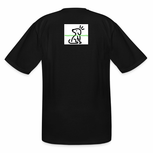 Happiness for Humanity - Men's Tall T-Shirt