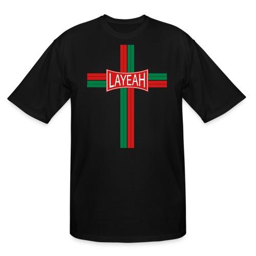 Cross Layeah Shirts - Men's Tall T-Shirt