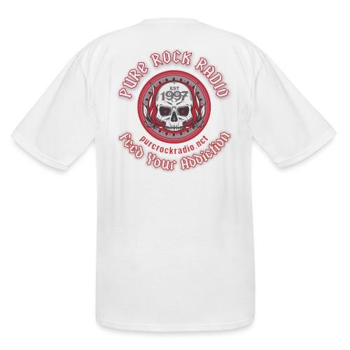 PRR Molenoise Skull (Front) + Circle Logo (Back) - Men's Tall T-Shirt
