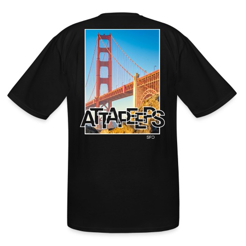 Postcard - SFO - Men's Tall T-Shirt