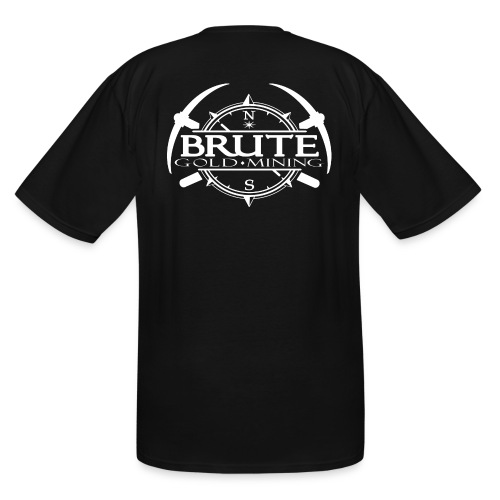 BRUTE-BACK-PATCH-2017-whi - Men's Tall T-Shirt