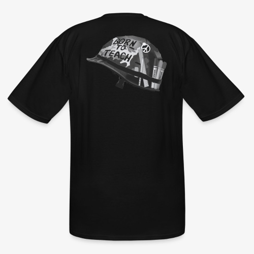 Born to teach B&W - Men's Tall T-Shirt