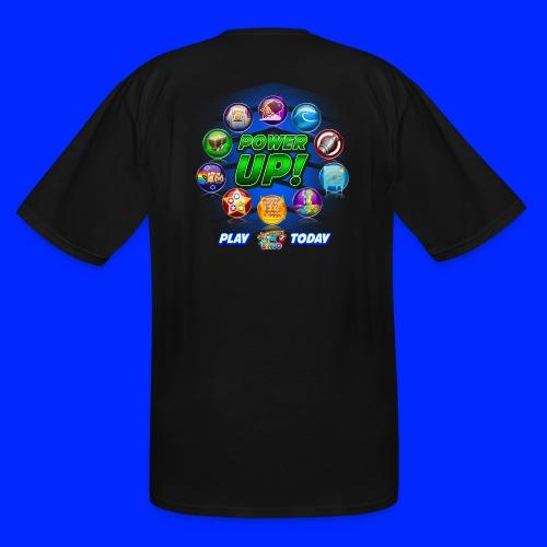 Vintage Cannonball Bingo Power-Up Tee - Men's Tall T-Shirt