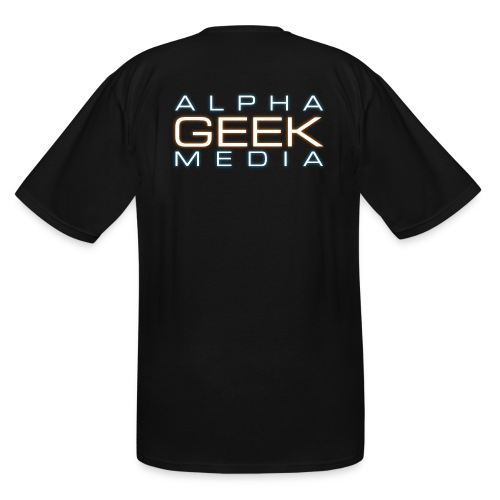 AGM Logo - Men's Tall T-Shirt